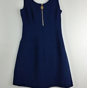 <Lilly Pulitzer> A_Line Navy Dress